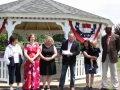 Gazebo Ribbon Cutting