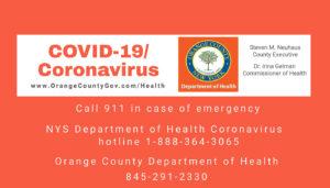 COVID-19 Preparedness in Orange County NY